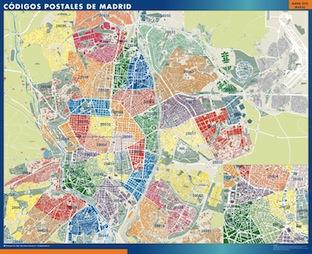 Madrid Mapas Gigantes De Pared