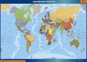 poster mapamundi