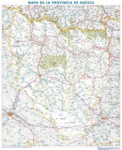 poster Provincia de Huesca