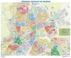 poster Mapa Madrid