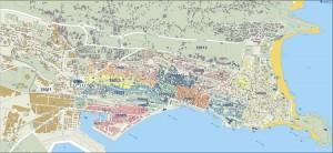 poster Mapa Santander