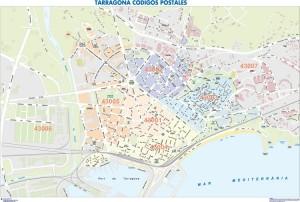 poster Mapa Tarragona