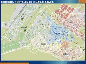 poster Mapa Guadalajara