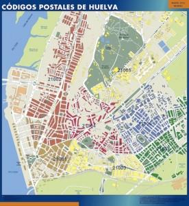 poster Mapa Huelva