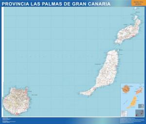 poster Las Palmas gran canaria
