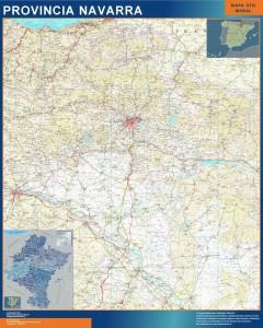 mapa gigante navarra