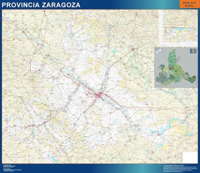 mapa gigante zaragoza
