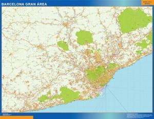 plano barcelona gran area