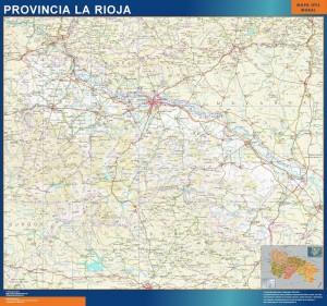 mapa pueblos la rioja