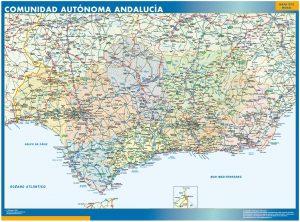 Mapa Gigante Andalucia