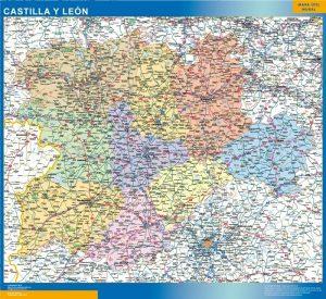Mapa Gigante Castilla y Leon