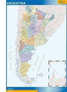 Mapa Argentina gigante